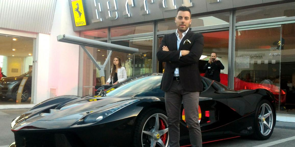 Crozzolo ospite al Ferrari 70th Anniversary Celebration Spain 2017