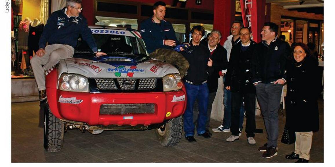 Federico Crozzolo debutta nel mondiale Italian Baja 2014