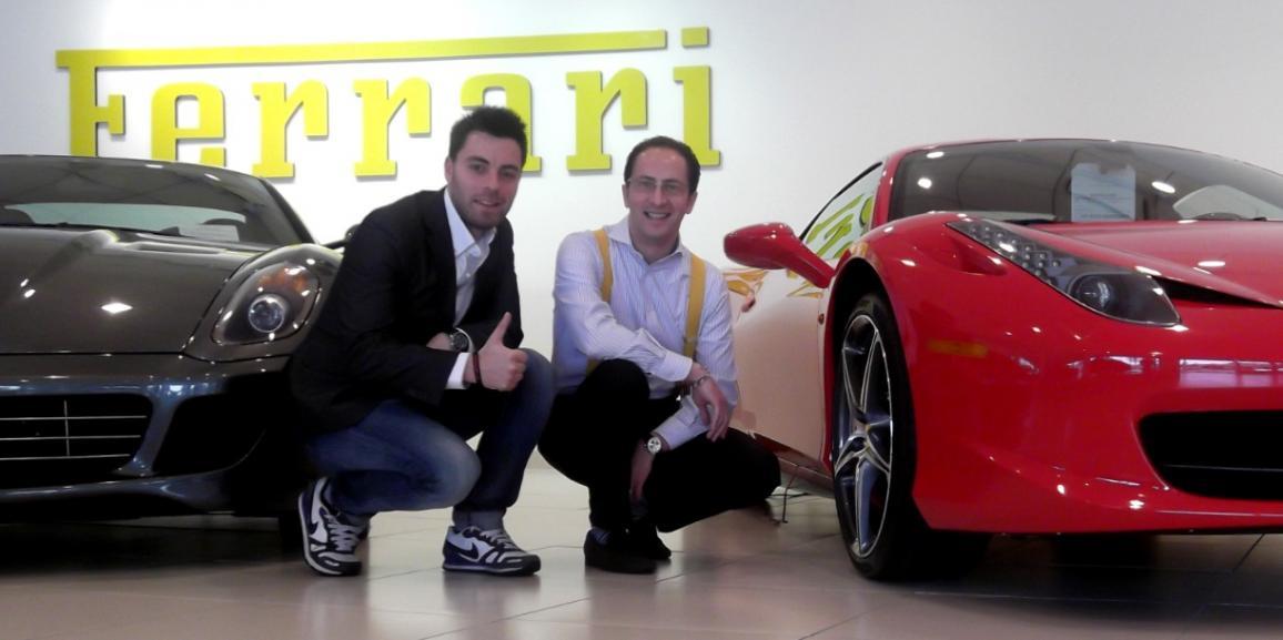 Federico Crozzolo ospite alla Ferrari Maserati di Silicon Valley