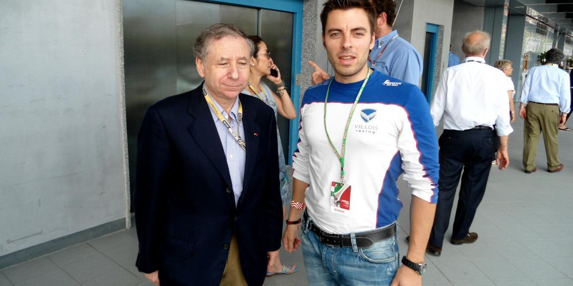 Federico Crozzolo ospite nel Paddock Castrol al Gran Premio F1 di Monza