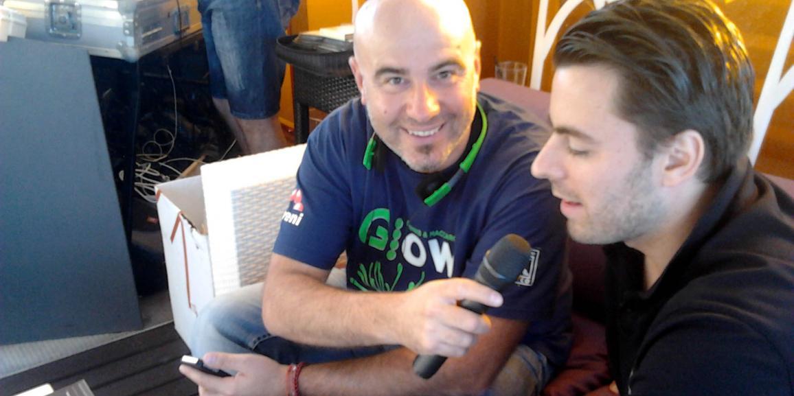 Federico Crozzolo intervista in diretta su Radio Fantasy