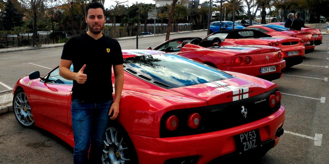Ferrari Owners Club Meeting Marbella Andalucia 2015