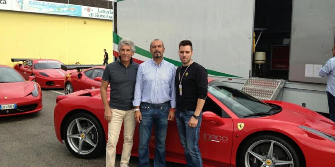 Federico Crozzolo partecipa a Mondo Motori 2013
