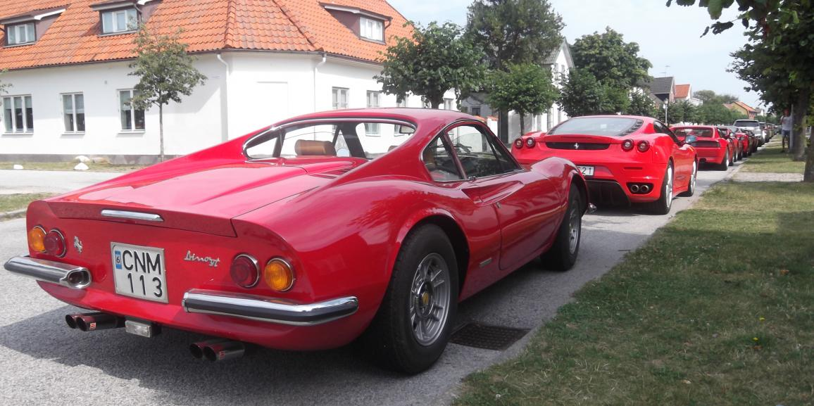 Federico Crozzolo ospite al raduno Ferrari Club Sweden