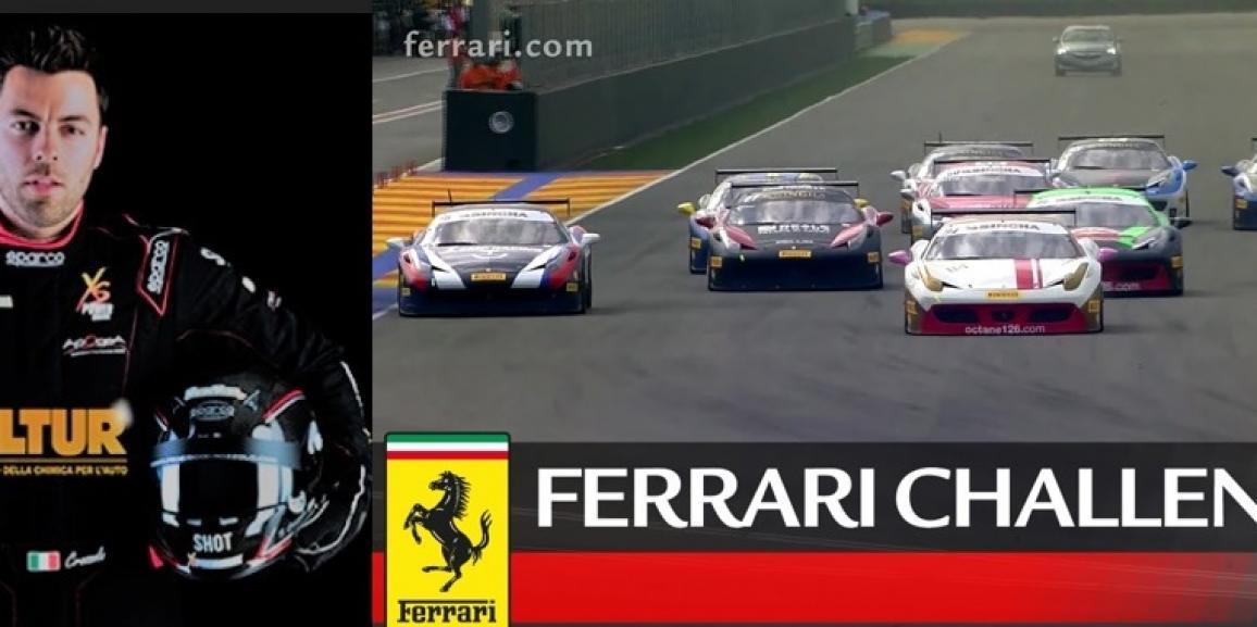 Il Driver Friulano ingaggiato per un Test Program nel Ferrari Challenge