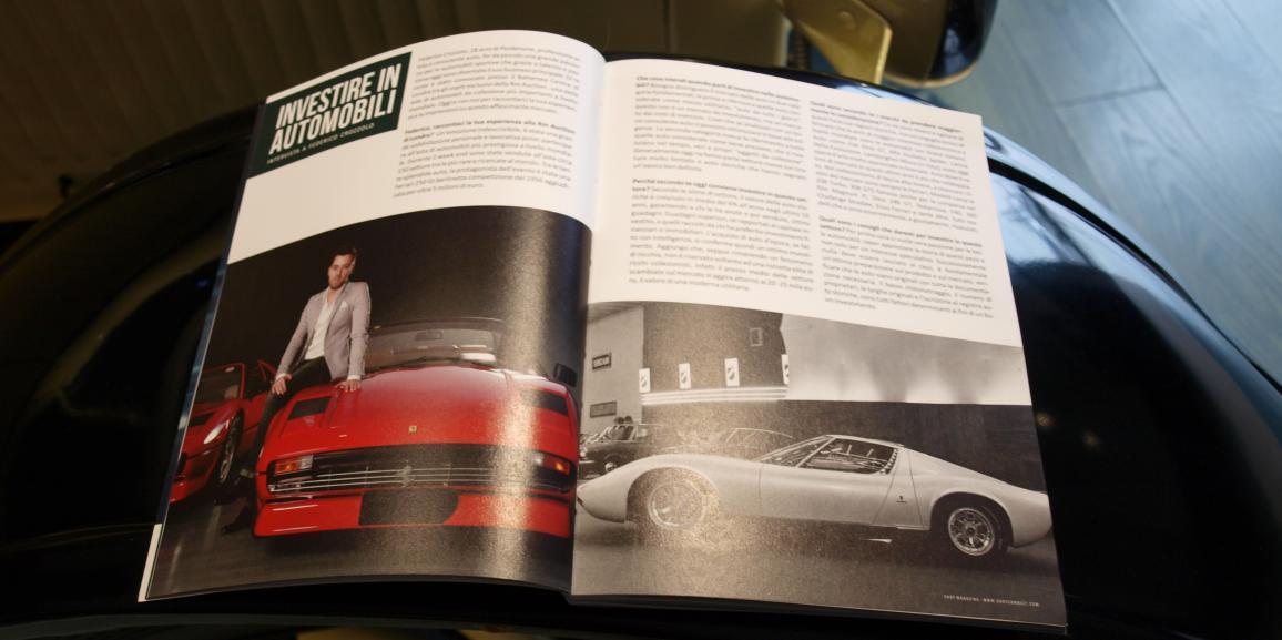 Investire in Automobili – Intervista esclusiva per Shot Magazine #4