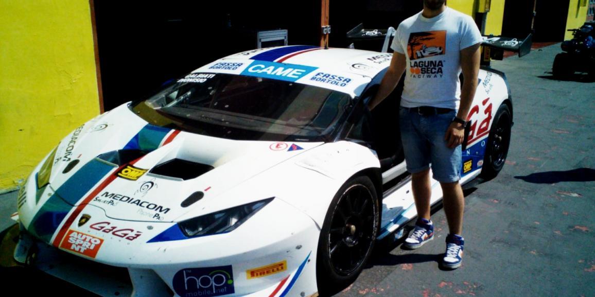Campionato Italiano GT con il Team Antonelli Motorsport