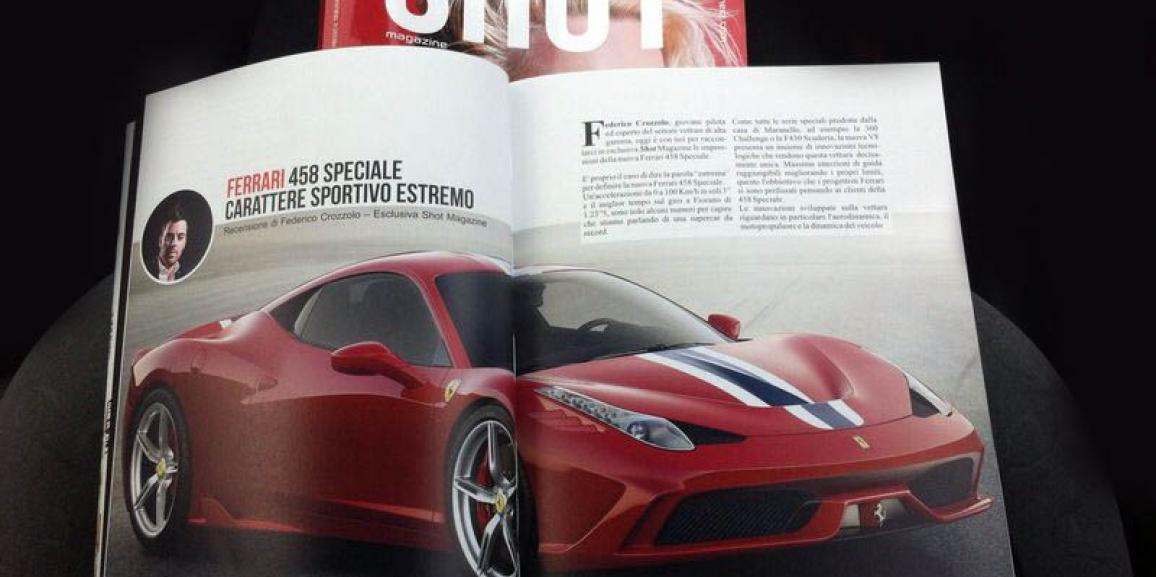 Ferrari 458 Speciale – Recensione  esclusiva Shot Magazine #3
