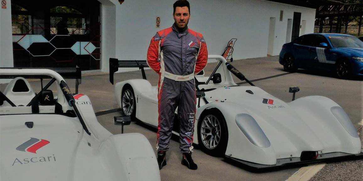 Il pilota Friulano entra nel Team Istruttori Ufficiali del Circuito Resort Ascari