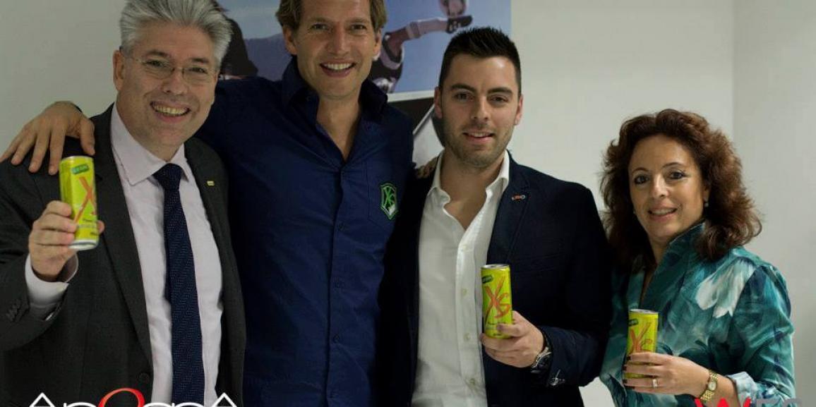 Federico Crozzolo incontra la XS Energy Drink