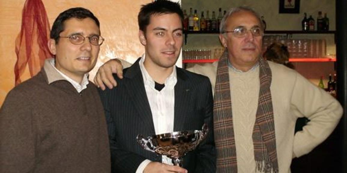 Federico Crozzolo premiato miglior pilota Flamax 2009