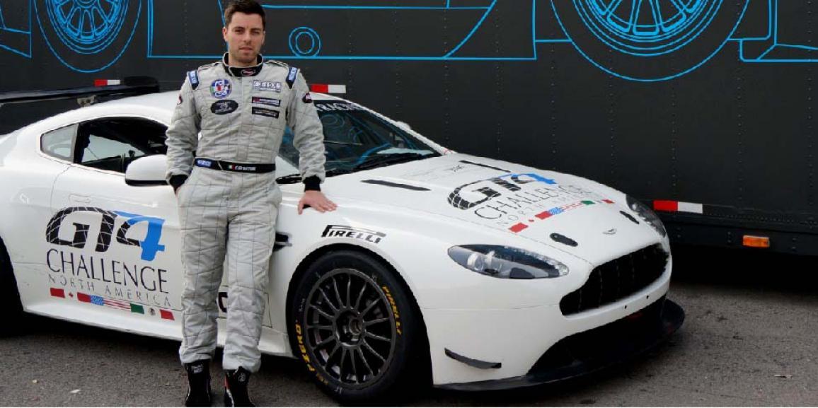 Federico Crozzolo vola negli Stati Uniti nel Team Aston Martin TRG-AMR