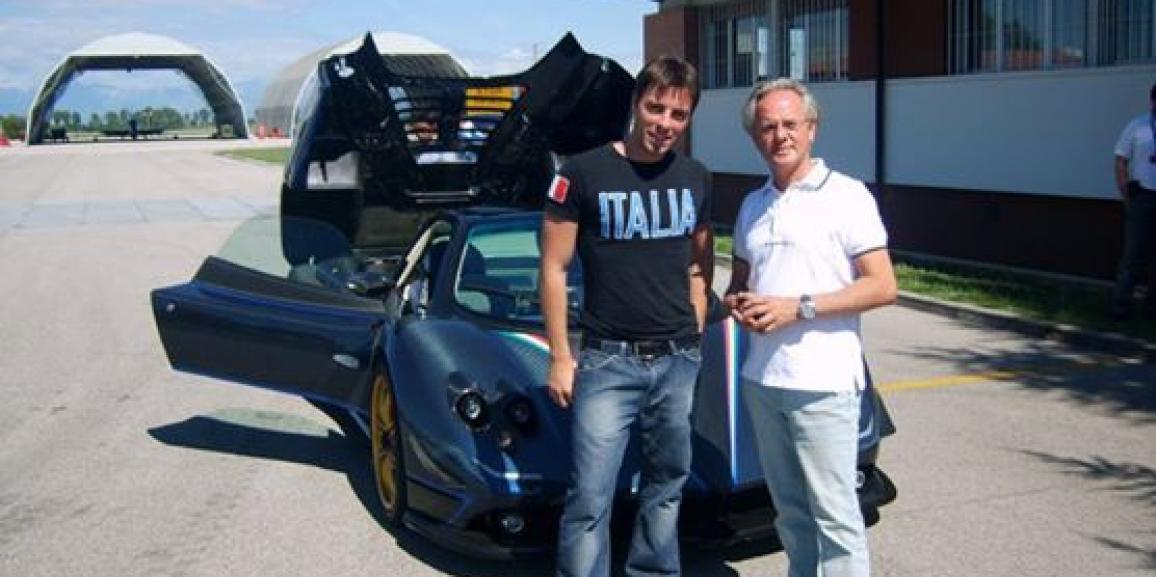Federico Crozzolo incontra Horacio e il Team Pagani